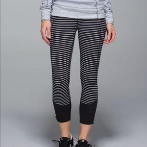 Lululemon Runday Crops Leggings Size 6
